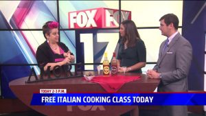 Free Cooking Classes - 2nd Saturday of Every Month at Amore Trattoria (Click for Info)